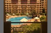 846, ЖК Флоренция, 1 спальня, 2 балкона. Вид на бассейн.