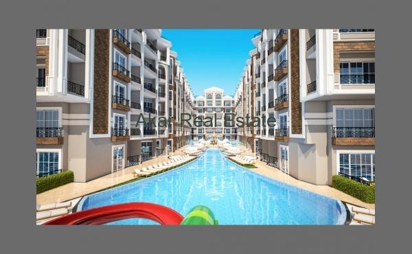 Апартаменты с 2 балконами с комплексе со своим пляжем