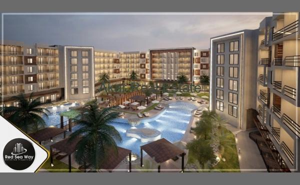 Апартаменты с 1 спальней со своим пляжем в Арабии