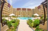 963, Апартаменты с 2 большими лоджиями в комплексе с бассейном