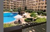 1001, СУПЕР-квартира. ЖК Флоренция, 1 спальня, 2 балкона. Вид на бассейн.